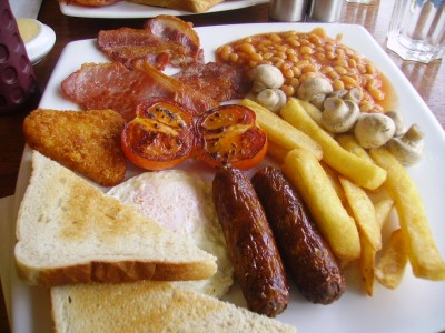 ארוחת הבוקר האנגלית שלנו.